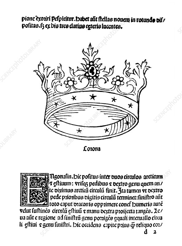 Corona constellation, 1482
