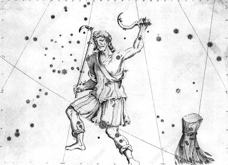 Bootes constellation, 1603
