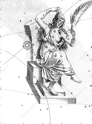 Cassiopeia constellation, 1603