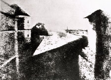 The oldest known photograph by J. Niepce