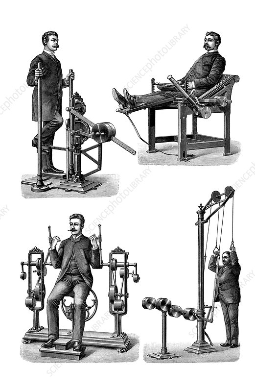 Victorian exercise machines