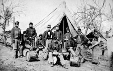 American Civil War camp
