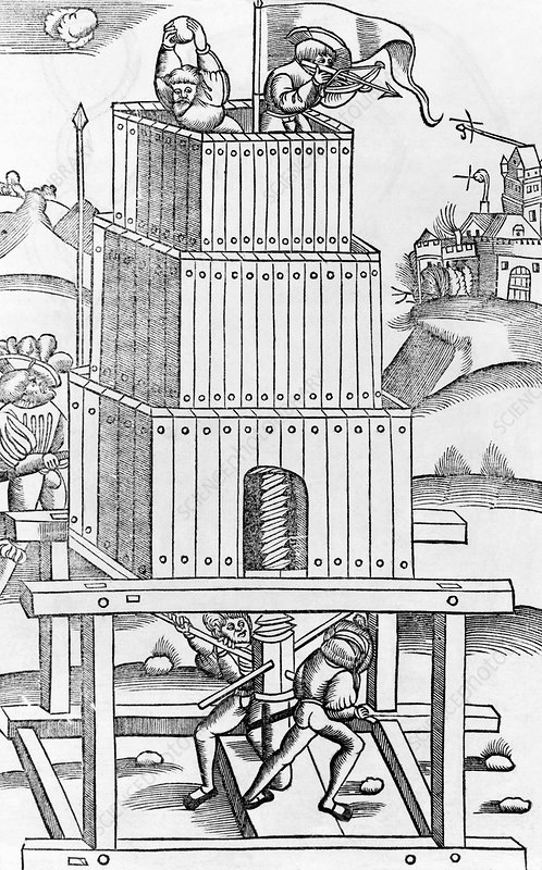Roman siege machine