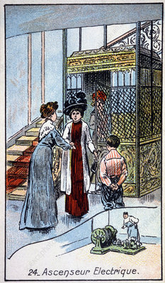Electric lift, 1910