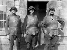 First World War body armour tests