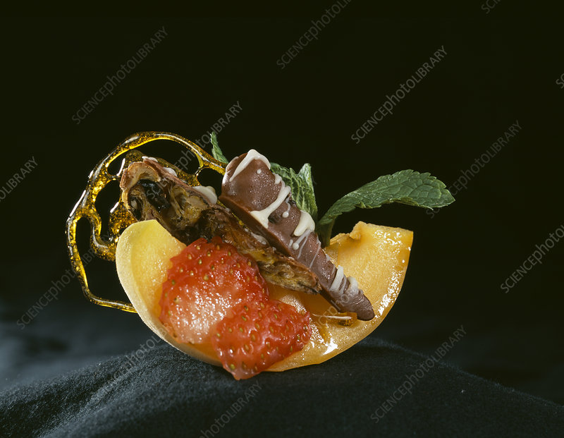 Chocolate covered locusts